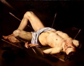 Nicolas Regnier - Saint Sebastian - Great Art - Religious Art - Peter Crawford